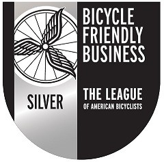 Bicycle Friendly Business Silver Medal