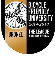 Bicycle Friendly University Bronze Medal
