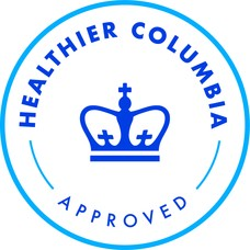 Healthier Columbia Approved logo